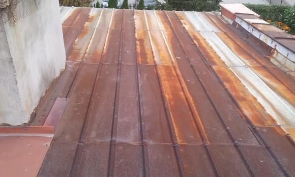 Farba na dachy zardzewiałe, skorodowane