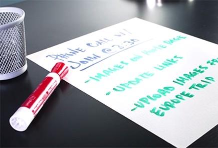 Farba suchościeralna do pisania markerami