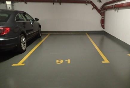 Podłoga garażowa RAL 8022