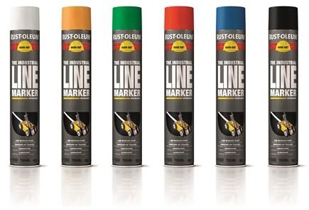 Spraye do malowania linii Hard Hat