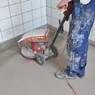 Naprawa posadzki betonu