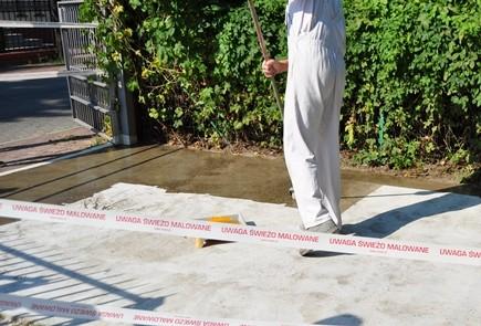 Zabezpieczenie betonu na zewnątrz