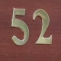 Montaż numerów domu