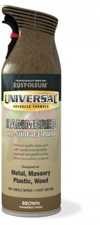 Universal spray paint hammered