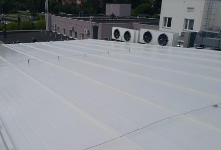 dachy stalowe uszczelnienie