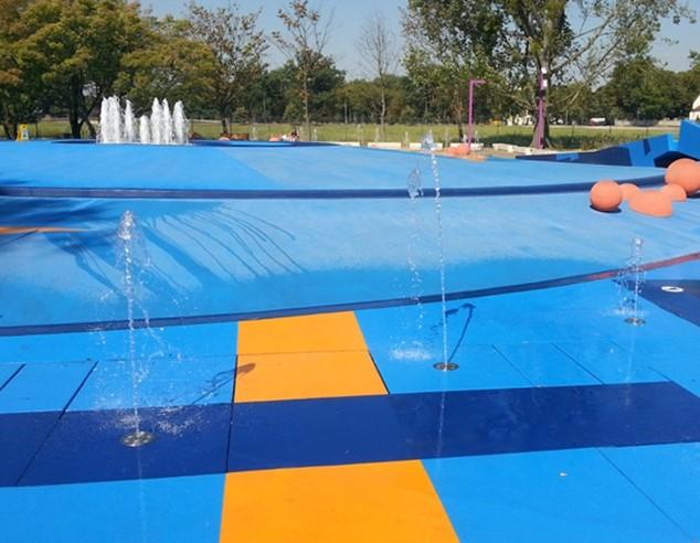 Farby do malowania fontann