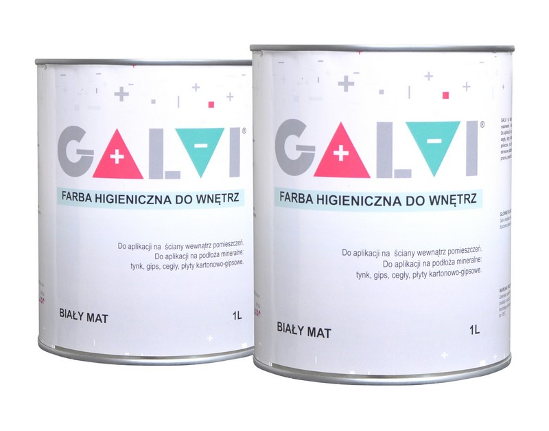 Farba przeciw pleśni i grzybom GALVI