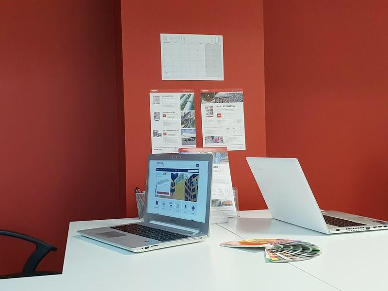 Farba zmywalna do biura