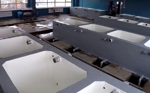 Renowacja/malowanie zbiornika z wodą