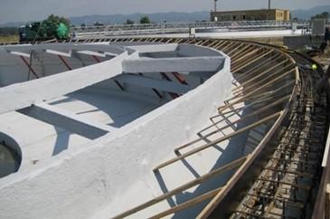 Uszczelnienie zbiorników wodnych, betonowych