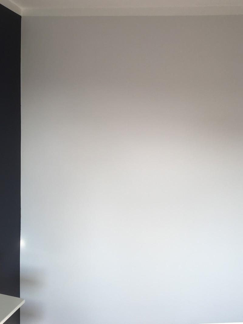 Farba akrylowa do ścian Deco Acryl w wykończeniu matowym w kolorze NCS S 1500 N na ścianie pokoju
