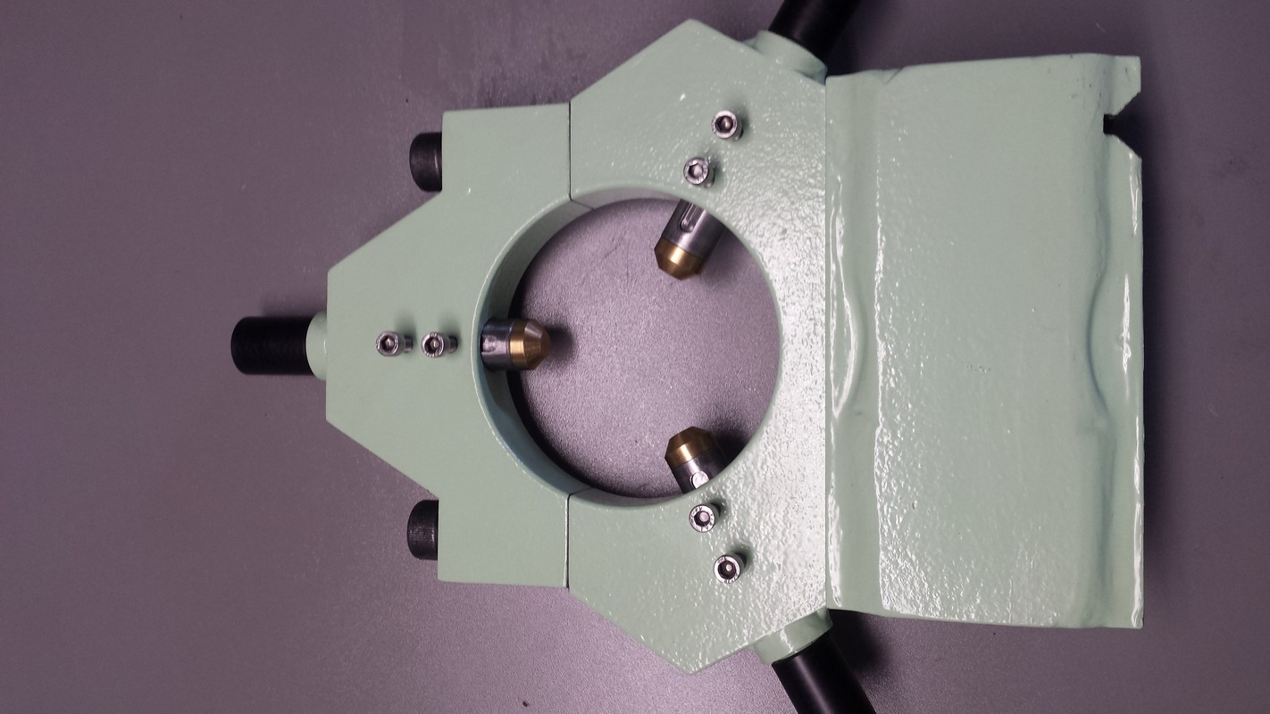 Farba Metalcote na elemencie metalowycm