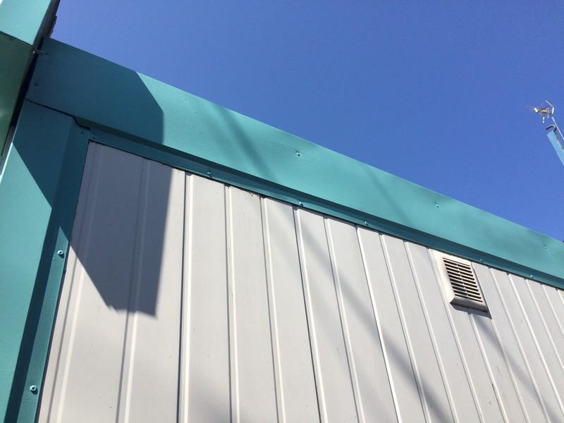 Farba do lamperii RD-Aquatop PU w kolorze RAL 6027 na budce z lodami