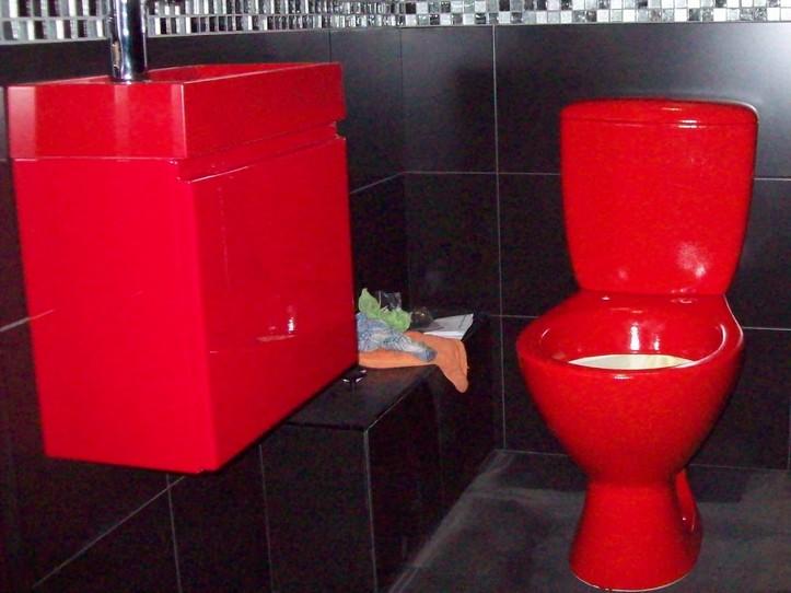Nawierzchnia poliuretanowa P101 RAL 3000 w łazience