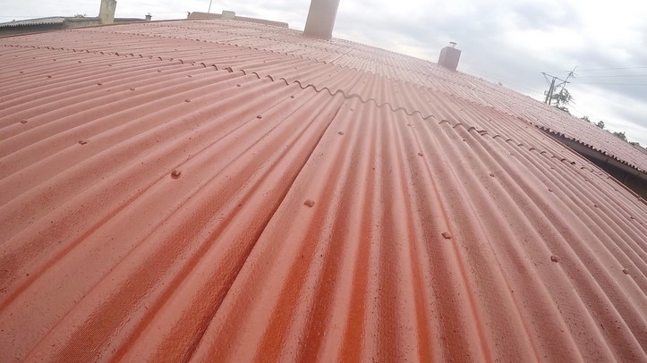 Powłoka dachowa Elastodeck na odnulinie