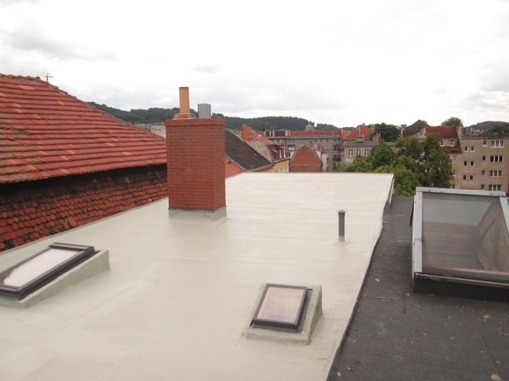 Powłoka dachowa Elastodeck na dachu