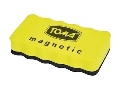 Gąbka magnetyczna z filcem do tablic suchościeralnych