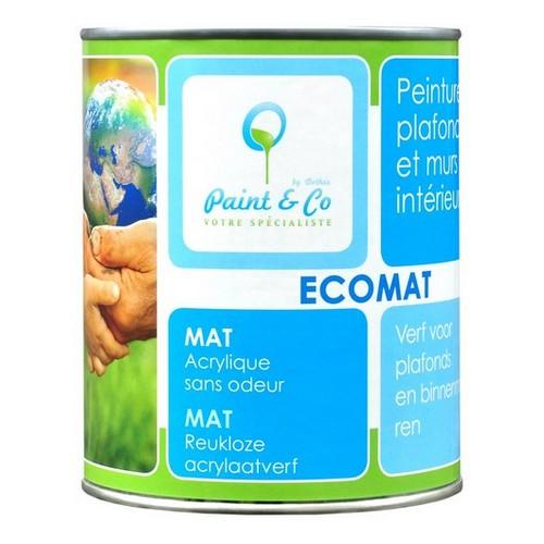 Ekologiczna farba do ścian Ecomat, Ecosoft
