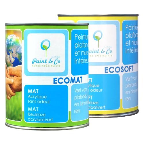Ekologiczna farba do ścian Ecomat / Ecosoft