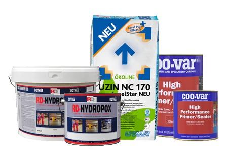 System naprawczy Uzin NC 170 + HP Primer W221 + Hydropox