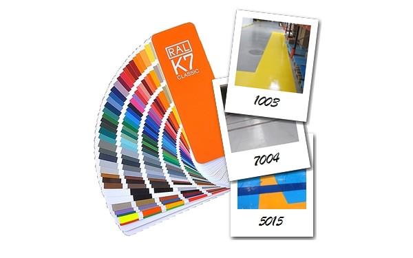Zdjęcia przedstawiające kolory