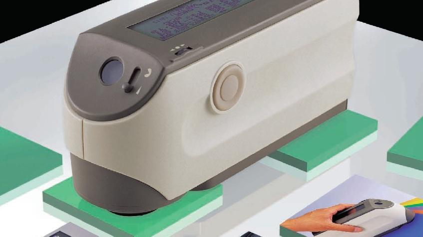 Pomiar koloru spektrofotometrem