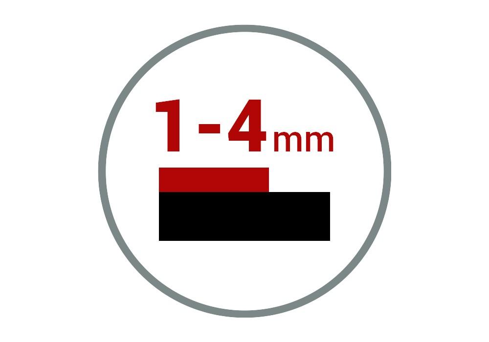 Gruba powłoka 1-4 mm
