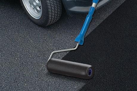 Farba bitumiczna do asfaltu