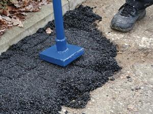 Masa bitumiczna asfaltowa do naprawy na zimno
