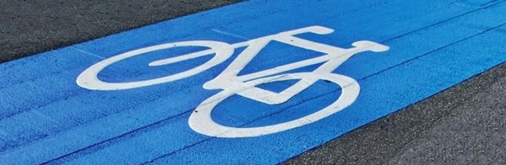 Farba do ścieżek rowerowych asfaltowych
