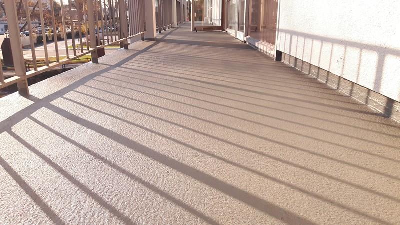Renowacja balkonu - struktura wykończenia