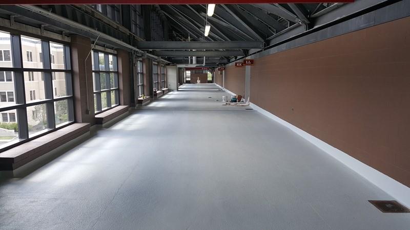 Renowacja przejść, korytarzy