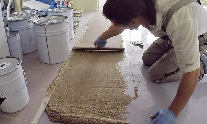 Żywiczna zaprawa naprawcza Rompox 1505 + piasek