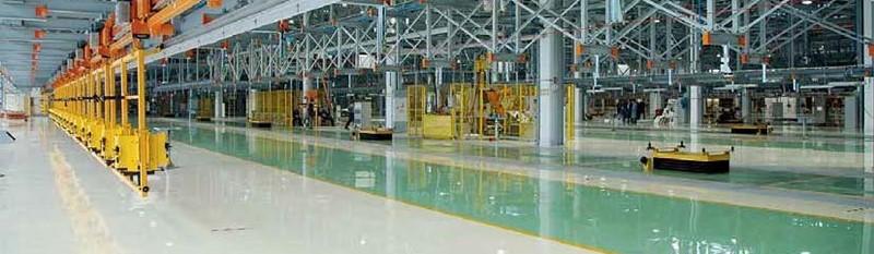 Posadzki przemysłowe - żywice epoksydowe, poliuretanowe, farby alkidowe, akrylowe, antypoślizgowe, etc.