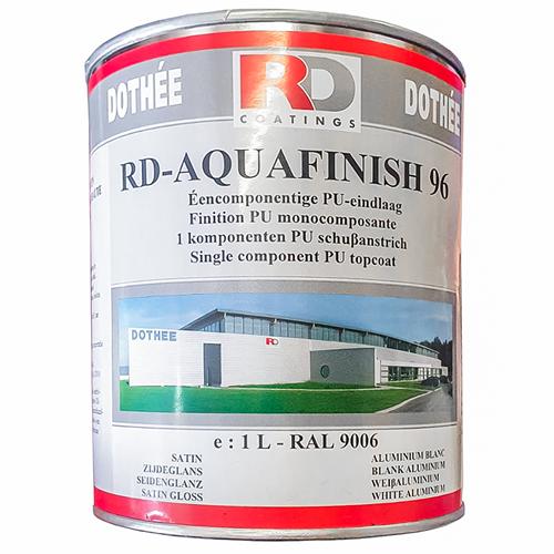 Farba metaliczna, aluminiowa RD-Aquafinish