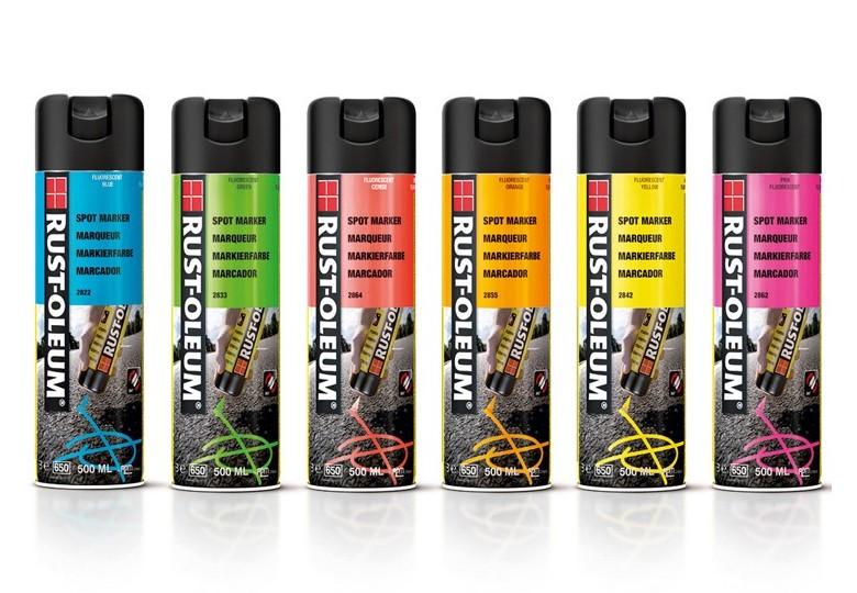 Farba geodezyjna spray Rust-Oleum 2800