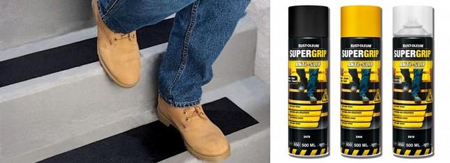 Spraye antypoślizgowe Supergrip™