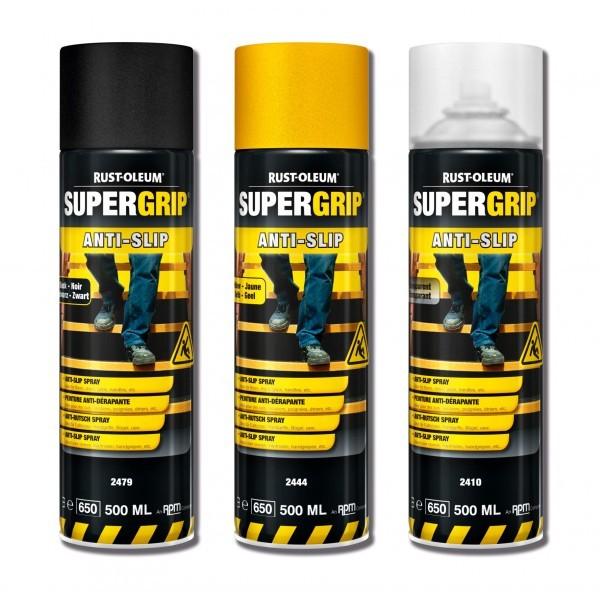 Spray antypoślizgowy żółty, czarny, bezbarwny