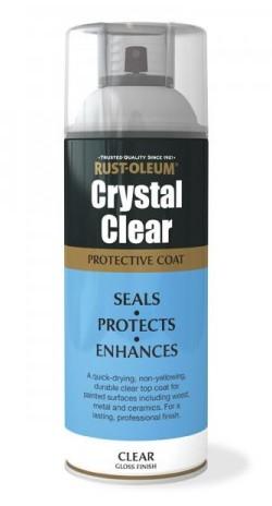 Lakier do mebli w sprayu Crystal Clear