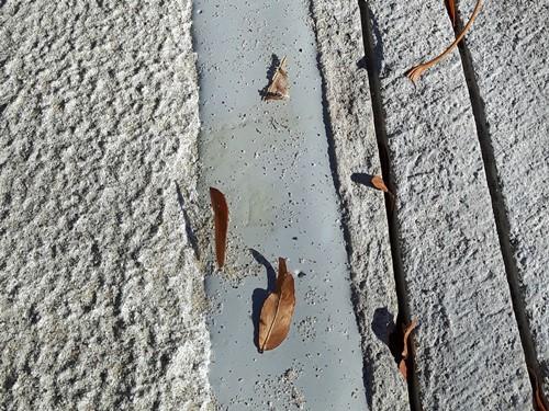 Wypełnianie dylatacji w betonie