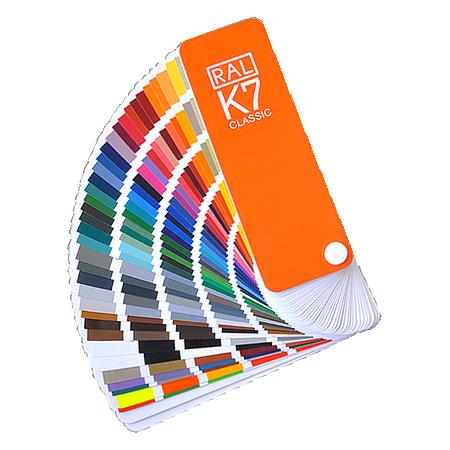 Wzornik kolorów RAL K7