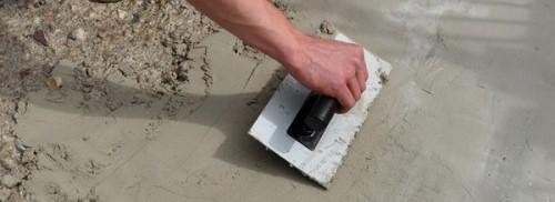 Naprawa betonu posadzki