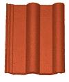 Czerwona farba do dachówki