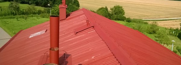 Farba do dachów metalowych, przemysłowych