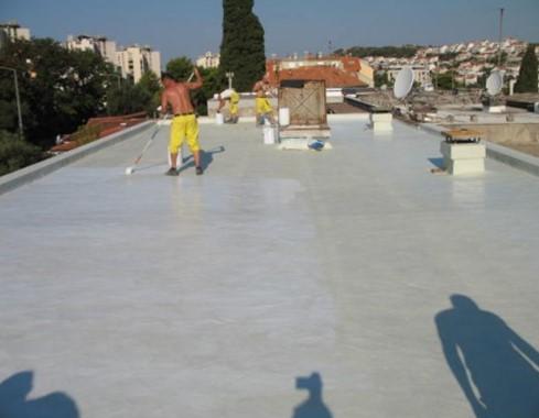 Hydrolizacja tarasów, balkonów
