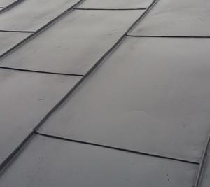 Malowanie dachu RAL 7024 Grafitowy