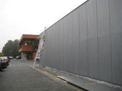 Uszczelnianie ścian metalowych