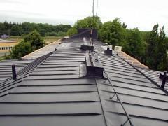 Farba na rdzę do dachów, pokryć dachowych