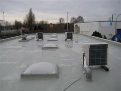 Uszczelninie dachu zima