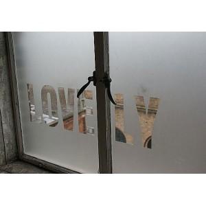 Szyby pomalowane Sprayem oszronione szkło